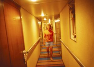 Young Stephen on Cruise