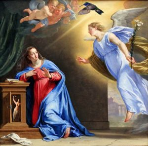 The Annunciation of Mary, Leda, Danae, Whomever