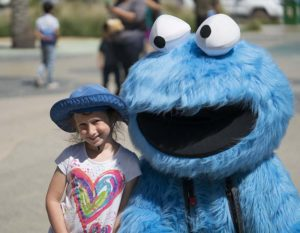 Na and Cookie Monster